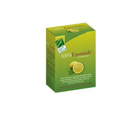 100% Natural Essentials Multivitamínico 60comp