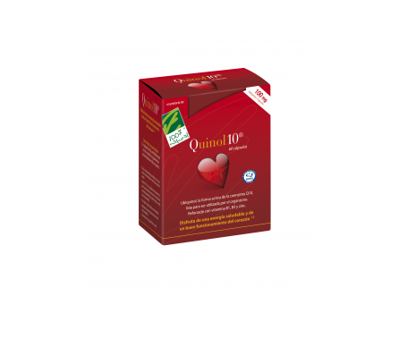 100% Natural Quinol10  60 Perlas De 100mg