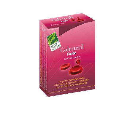 100% Natural Colesteril Forte 30cáps
