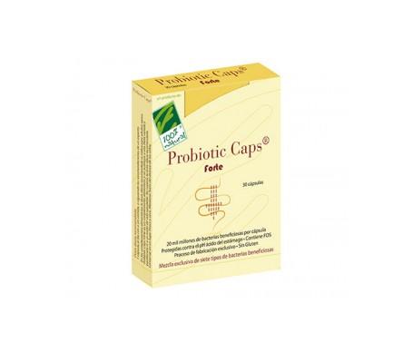 100% Natural Probiotic Caps Acidophilus  30 Cap
