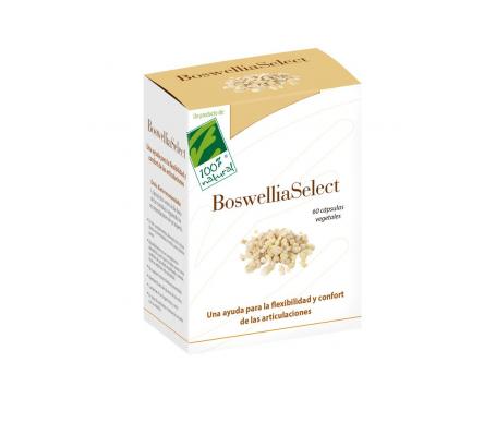 100% Natural Boswellia Select 60cáps