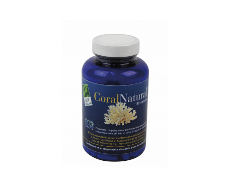 100% Natural Coral Natural 180cáps