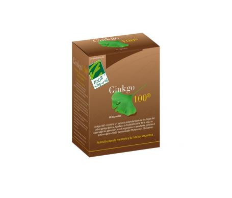100% Natural Ginkgo 60caps