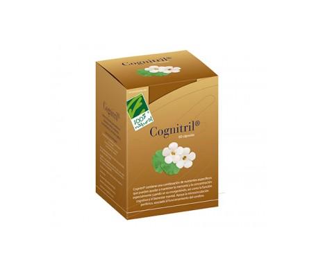100% Natural Cognitril Memoria 60 Capsulas