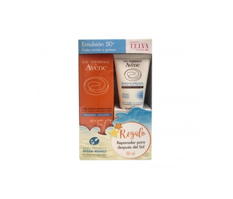 Avene Solar Emulsion Spf50+ 50 Ml + After Sun 50 Ml