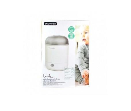 Suavinex® Link esterilizador de biberones 2 en 1 (eléctrico y de microondas)