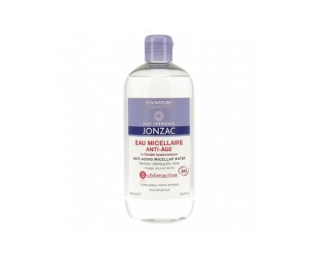 Jonzac Sublimactive agua micelar anti-age 500ml