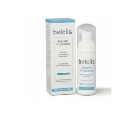 Belcils schiuma detergente per l'igiene delle palpebre sensibili 50ml