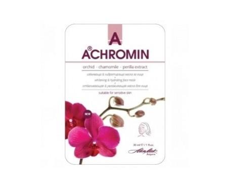 Achromin® mascarilla  blanqueamient e hidratación con orquídea 30ml