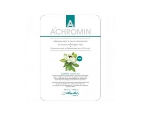 Achromin™ Bio-cellulose Masque blanchissant visage 30ml
