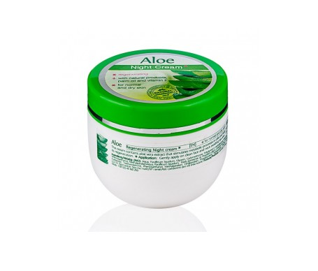 Aloe Vera Moisturising and regenerating night cream for dry and normal skin 100ml