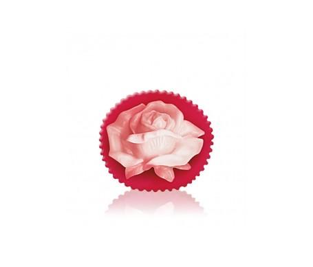 Bulgarian Rose Fantasy Jabón  Glicerina Rosa Blanca 80 gr