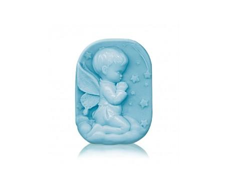 Bulgarian Rose Fantasy Jabón de glicerina Ternura infantil azul 100gr