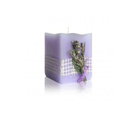 Bulgarian Rose vela Flor  Lavanda Aromaterapia