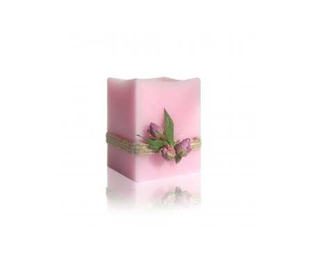 Bulgarian Rose vela Flor Rosa Aromaterapia