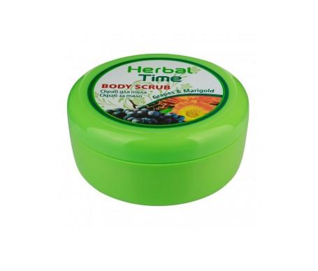 Herbal Time Exfoliante corporal con uvas y caléndula 250ml