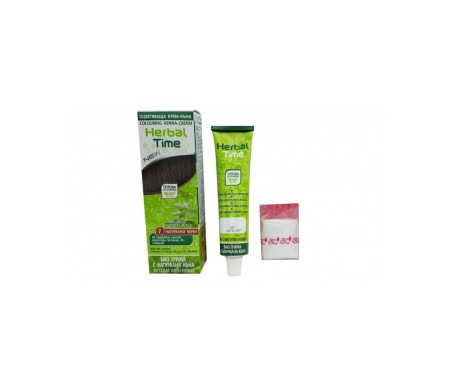 Herbal Time Tinte  Henna Color Negro Natural 7