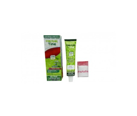 Herbal Time Tinte  Henna Color Rojo Cobrizo 3