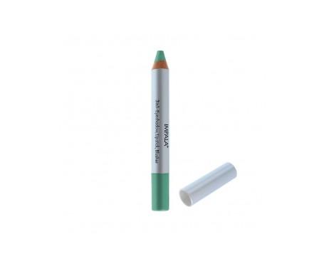 Impala Lápiz 3 en 1 Color Verde Metalico N05 Sombra de ojos, Lápiz labial o Colorete 1 Ud