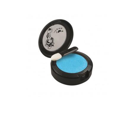 Impala Sombra  Ojos En Crema Color Azul Metalizado