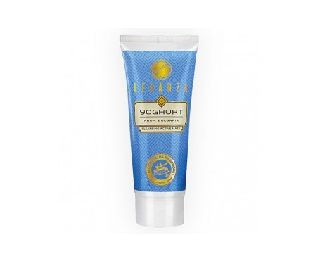 Leganza Mascarilla limpiadora facial activa con yogur 75ml