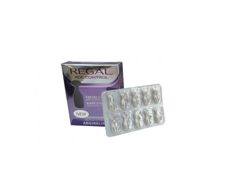 Regal Age Control Anti-Wrinkle Facial Capsules with Lifting Effect 10 capsules X 0