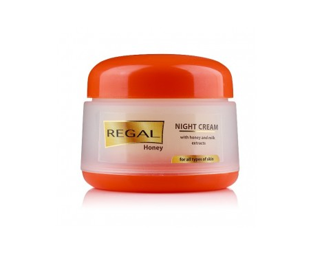 Regal Honey & Milk Crema  Noche Con Extracto  Miel Y Leche