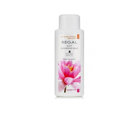 Regal Natural Beauty Leche Limpiadora Suave Para Piel Normal Y Mixta 200 ml