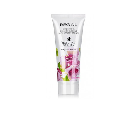 Regal Natural Beauty Limpiador Exfoliante Con Hueso  Albaricoque 100 ml