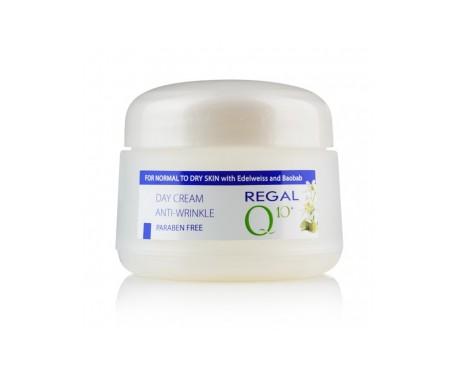 Regal Q10+ Crema de Día Antiarrugas con Aceite de Baobab y Edelweiss Piel Normal a Seca 50 ml
