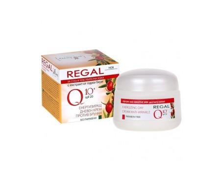 Regal Q10+ Energetisierende Anti-Falten-Tagescreme mit Goji-Beere 20+ Trockene und empfindliche Haut 50ml