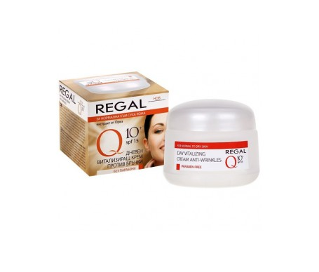Regal Q10+ Revitalizing Anti-Wrinkle Day Cream Normal A Dry Skin 15+ 45 ml