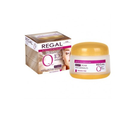 Regal Q10+ Anti-Wrinkle Night Cream for Dry and Sensitive Skin 50 ml