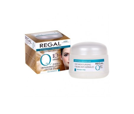 Regal Q10+ Moisturising Cream day Anti-wrinkle Normal and Combination 50 ml