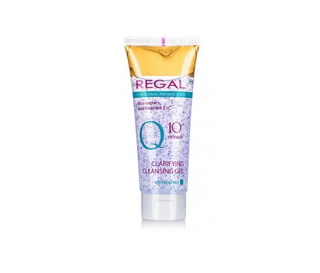 Regal Q10+ Gel Limpiador Para Piel Normal A Mixta
