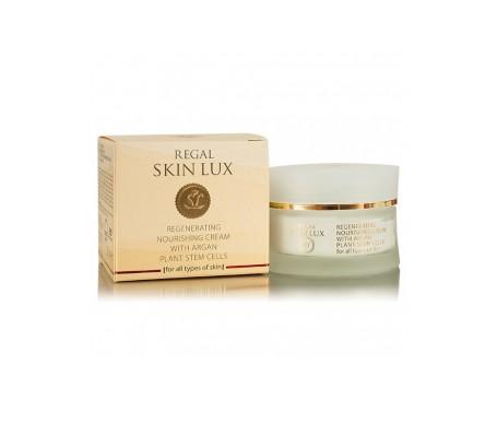 Regal Skin Lux Crema Regeneradora Nutritiva con Células madre de Argán 30 + 50 ml