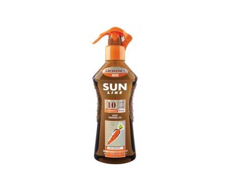 Sunlike Aceite acelerador del bronceado con Zanahoria SPF10