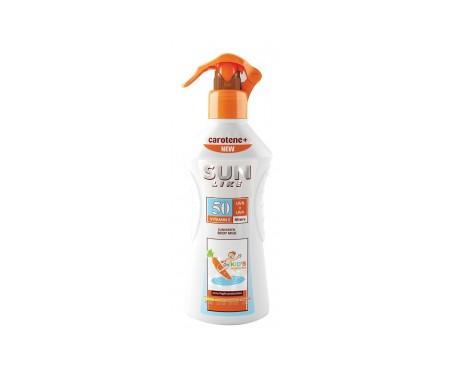 Sunlike Leche Protectora solar niños SPF50+ Zanahoria Pulverizador 200ml
