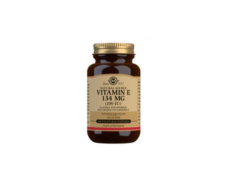 Solgar Vit E 200ui 100 Perlas Vegana