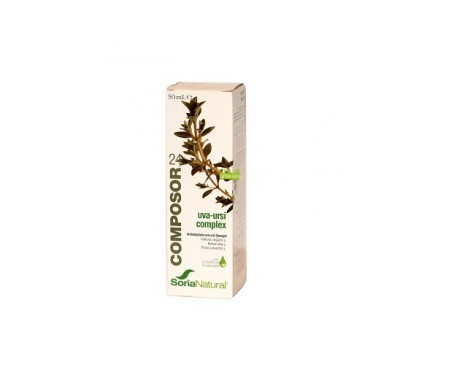 Composor 24 Uva Ursi Complex 50ml Soria Natural