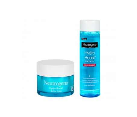 Neutrogena® Hydro Boost® Gel de Agua 50ml + Limpiador Agua Micelar 200ml