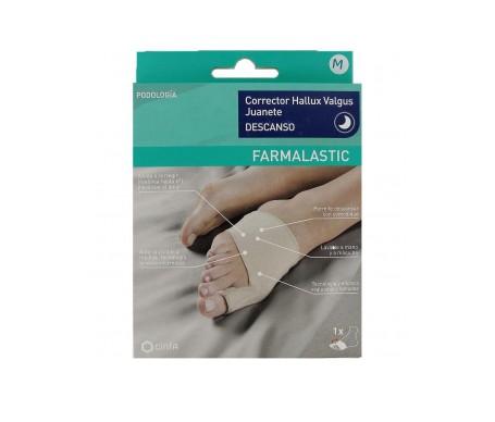 Cinfa Farmalastic corrector de juanete descanso talla M