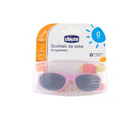 Chicco Gafas infantiles de sol para niña modelo patito 0m+