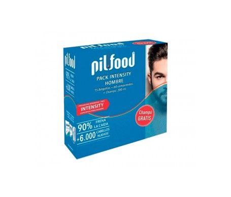 Pilfood Pack Intensity Hombre 15 Ampollas + 60 Comprimidos + Cha