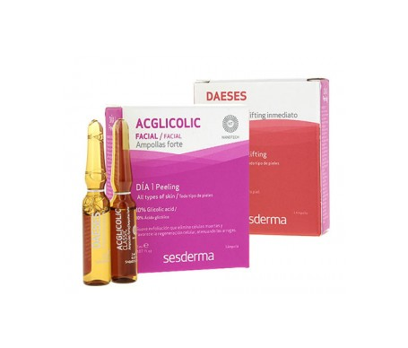 Sesderma Pack Acglicolic Classic Forte 1amp + Daeses sérum efecto lifting 1amp