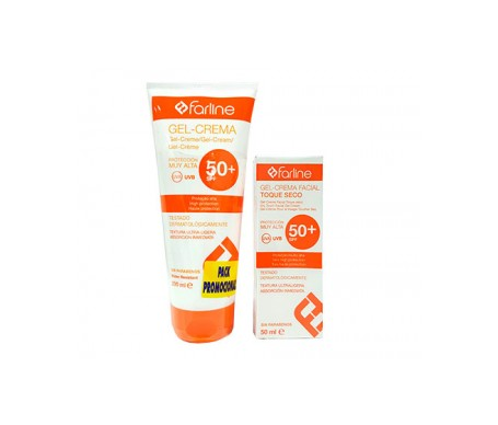 Farline Gel-crema Corporal Spf50+ 200ml + Facial Spf50+ 50ml