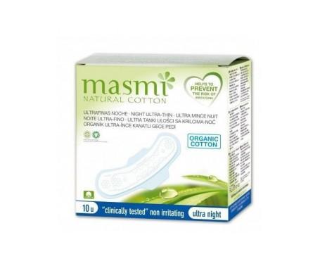 Masmi Compresas Ultrafinas Noche Con Alas 10ud