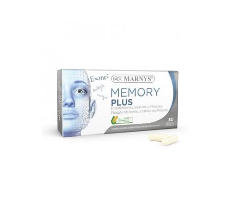 Marnys Memory Plus 30 Cap
