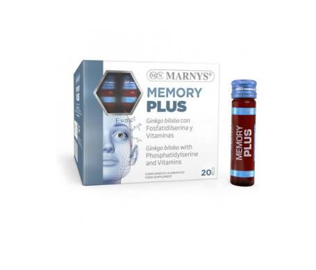 Marnys Memory Plus Viales 20x10ml