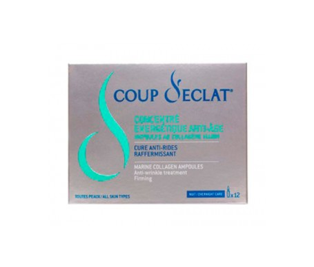 Coup D'eclat ampollas de colágeno marino 12 x 1ml